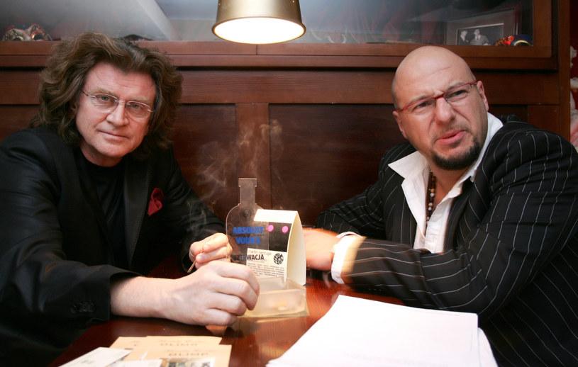 Zbigniew Wodecki i Piotr Gąsowski, 2005 rok /Warda /AKPA