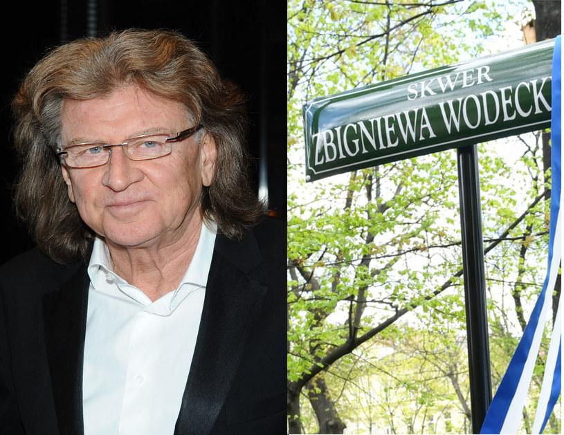 Zbigniew Wodecki otrzymał skwer w Krakowie /Piotr Andrzejczak (MWmedia)/ Artur Barbarowski (East News) /pomponik.pl