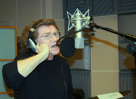Zbigniew Wodecki w studiu /