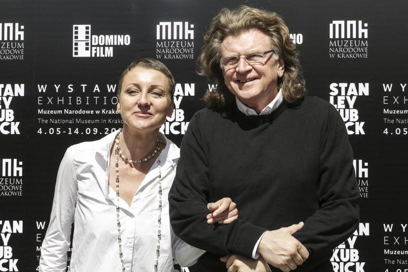 Zbigniew Wodecki z córką Katarzyną /Beata Zawrzel /East News
