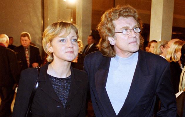Zbigniew Wodecki z żoną poznał się , gdy występował w zespole Ewy Demarczyk /Darek Majewski /Agencja FORUM