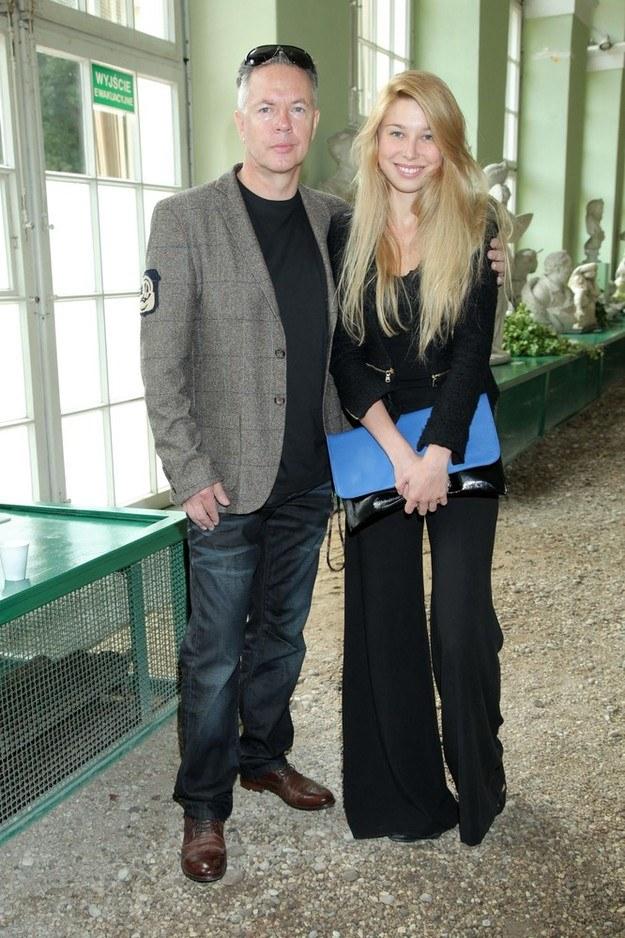 Zbigniew z córką /- /East News