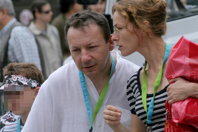 Zbigniew Zamachowski i Aleksandra Justa, 2007 rok /MAI /AKPA