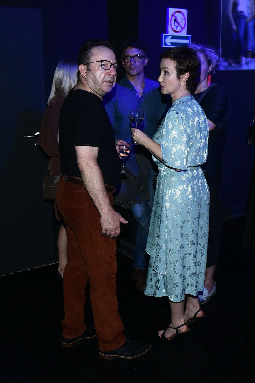 Zbigniew Zamachowski i Gabriela Muskała /VIPHOTO /East News