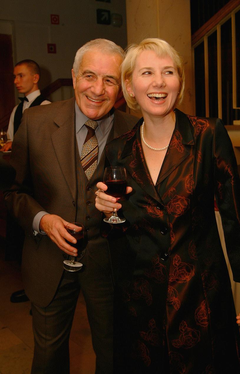 Zbigniew Zapasiewicz i Olga Sawicka /Prończyk /AKPA