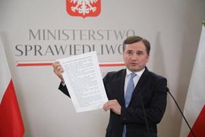 Zbigniew Ziobro apeluje do sejmików w sprawie LGBT: Nie ulegajcie szantażowi UE