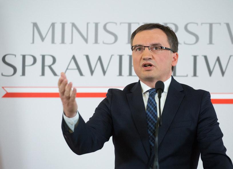 Zbigniew Ziobro chce, by TK zbadał uchwałę samorządu adwokatów /Mateusz Wlodarczyk /Agencja FORUM