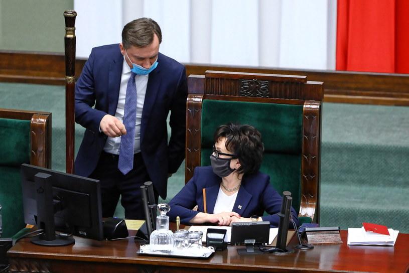 Zbigniew Ziobro chciał zabrać głos w trakcie sejmowej debaty /Rafał Guz /PAP