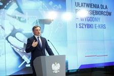 Zbigniew Ziobro: e-KRS to ułatwienie dla polskiego przedsiębiorcy