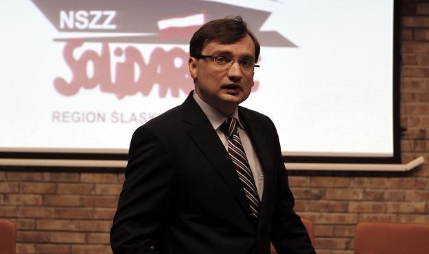 Zbigniew Ziobro/fot. A. Grygiel /PAP