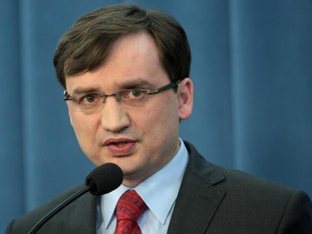 Zbigniew Ziobro/fot. L. Szymański /PAP