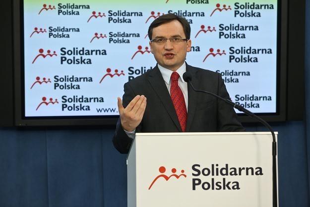Zbigniew Ziobro, fot. Rafał Guz /PAP
