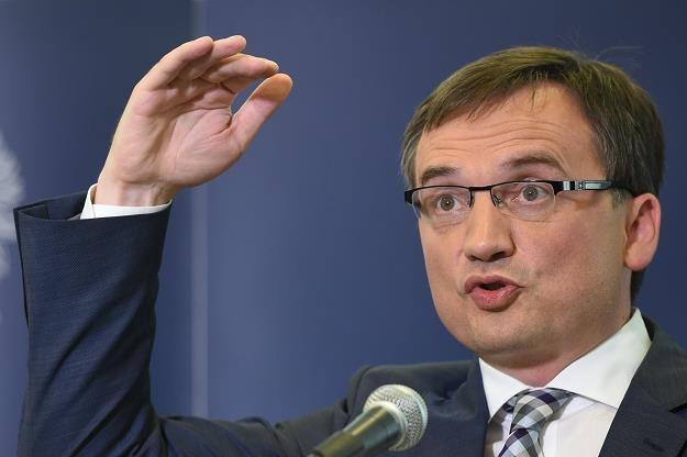 Zbigniew Ziobro. Fot. Rafał Oleksiewicz /Reporter