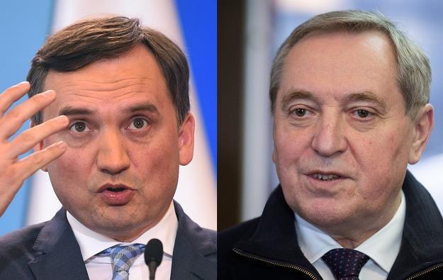 Zbigniew Ziobro i Henryk Kowalczyk. Fot. Adam Chełstowski i Mateusz Włodarczyk /FORUM