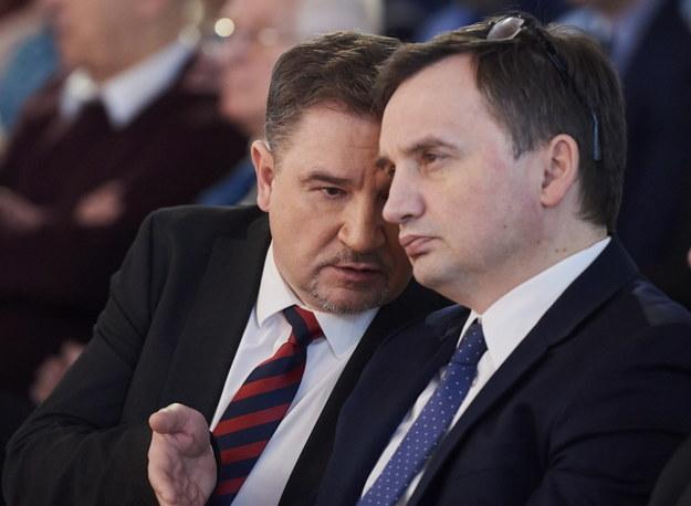 Zbigniew Ziobro i Piotr Duda /PAP