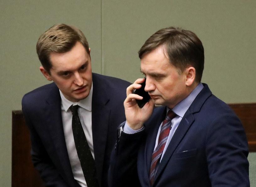Zbigniew Ziobro i Sebastian Kaleta /Piotr Molecki /East News
