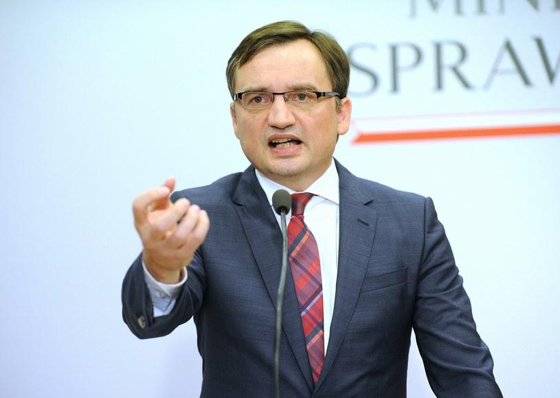 Zbigniew Ziobro, minister sprawiedliwości i Prokurator Generalny /Bartosz Krupa /East News
