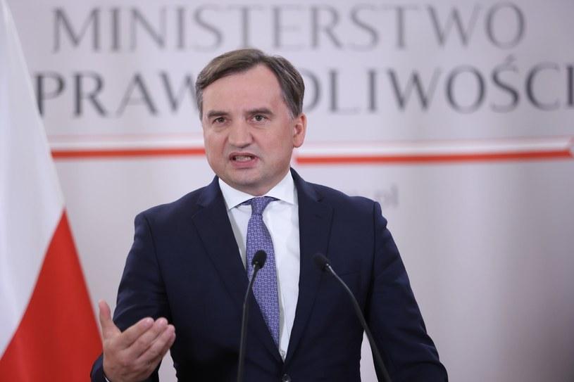 Zbigniew Ziobro, minister sprawiedliwości, prokurator generalny / Leszek Szymański    /PAP