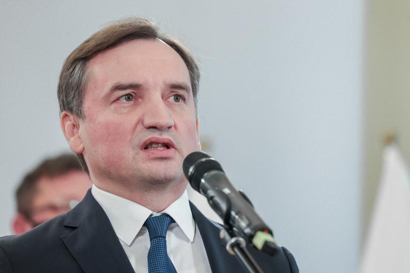 Zbigniew Ziobro, minister sprawiedliwości /Rafał Gaglewski /Reporter
