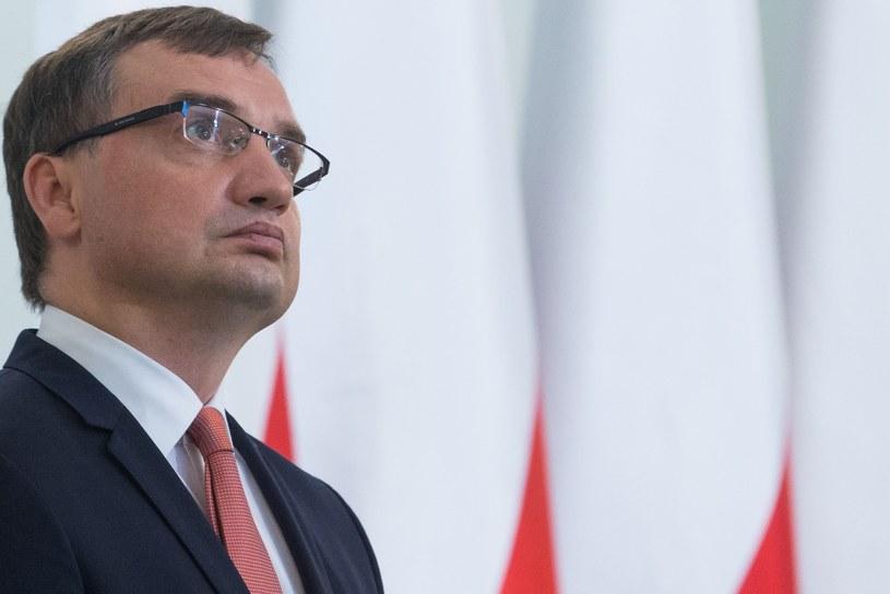 Zbigniew Ziobro nie zgodził się ze zdaniem Sądu Najwyższego /Tomasz Jastrzebowski/REPORTER /Reporter