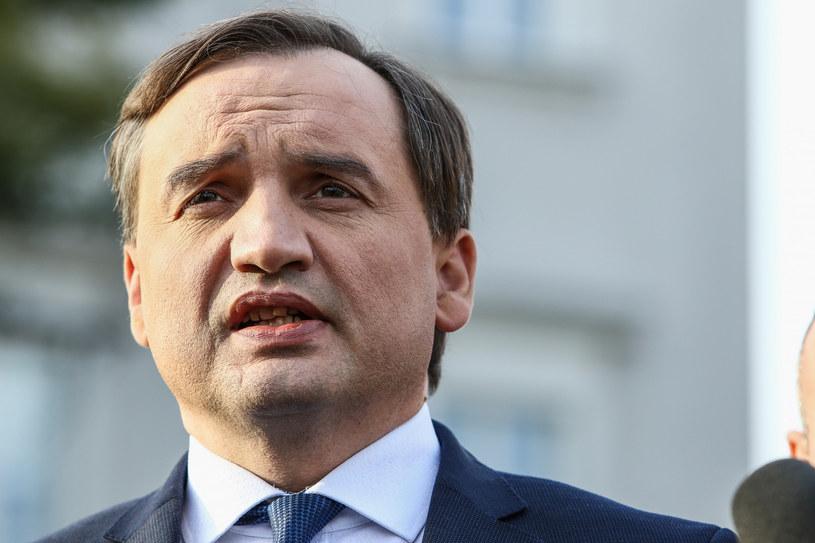 Zbigniew Ziobro odniósł się do pisma I prezes SN /Grzegorz Ksel /Reporter