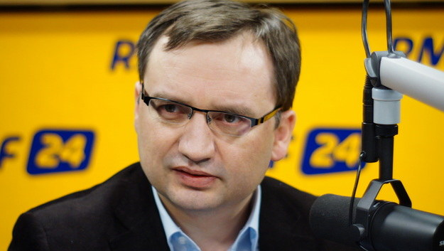 Zbigniew Ziobro podczas rozmowy z Konradem Piaseckim /Michał Dukaczewski /RMF