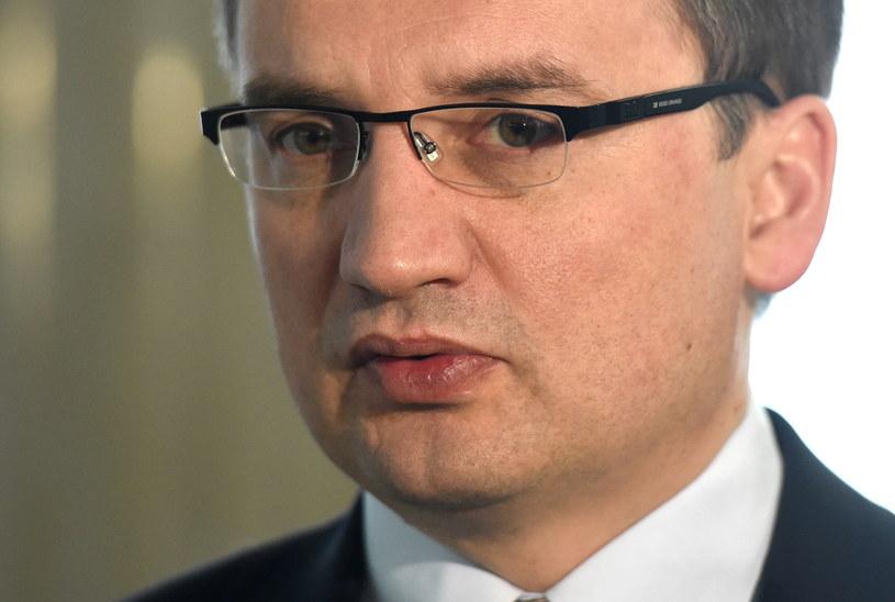 Zbigniew Ziobro poparł Andrzeja Dudę /Radek Pietruszka /PAP