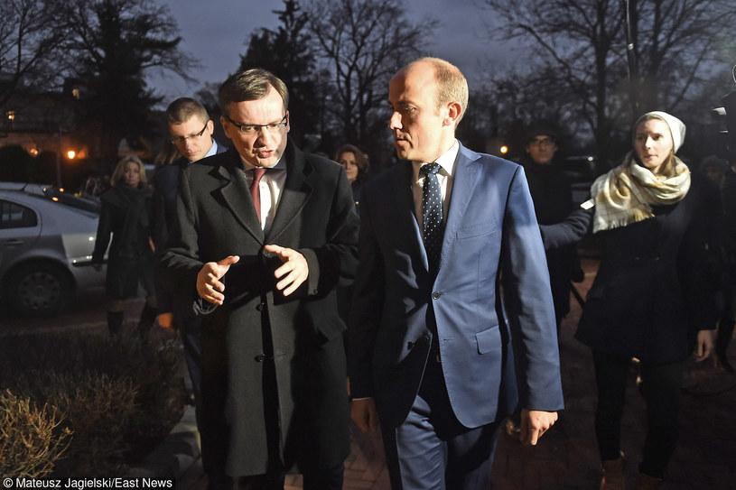 Zbigniew Ziobro przejmuje Ministerstwo Sprawiedliwości od poprzedniego ministra Borysa Budki /Mateusz Jagielski /East News