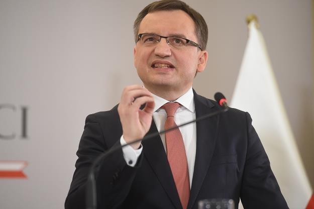 Zbigniew Ziobro - szef resortu sprawiedliwości. Fot. Z. Kaczmarek /Reporter