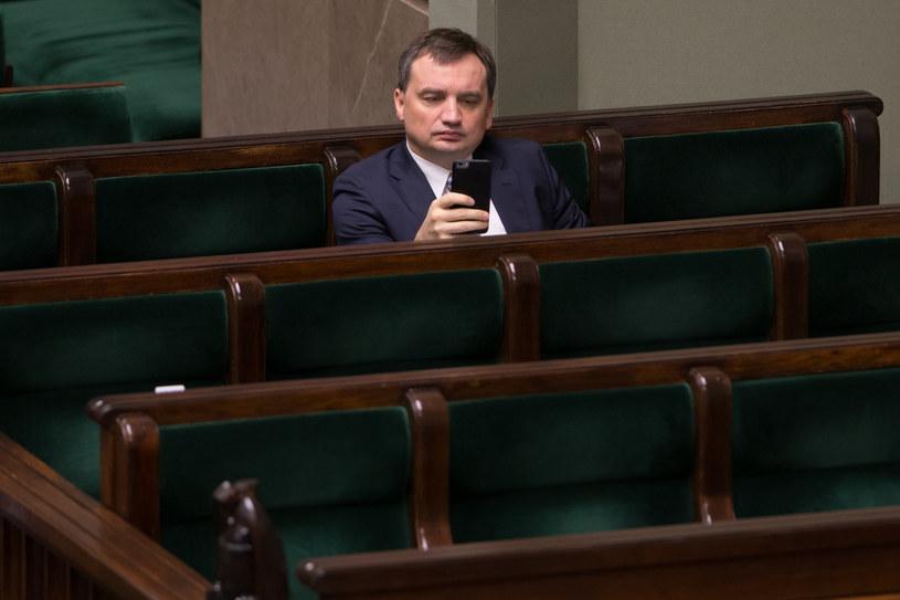 Zbigniew Ziobro w Sejmie /Krystian Maj /Agencja FORUM