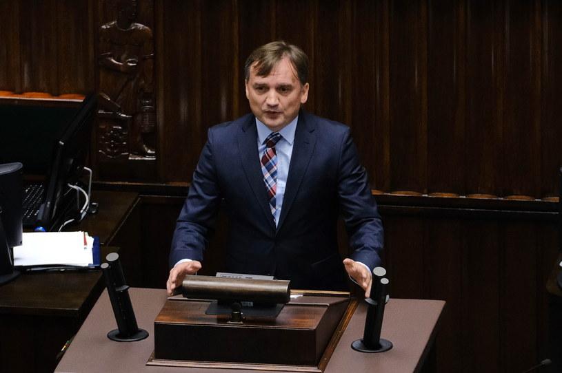 Zbigniew Ziobro w Sejmie /Mateusz Marek /PAP