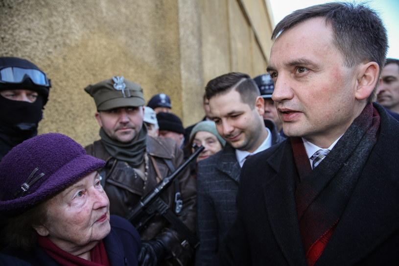 Zbigniew Ziobro (z prawej) /Rafał Guz /PAP