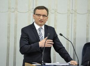 Zbigniew Ziobro: Żadne pogróżki nie zrobią na nas wrażenia