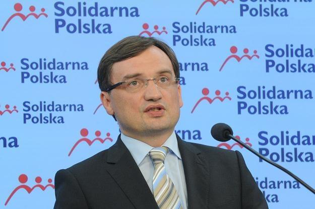 Zbigniew Ziobro /PAP