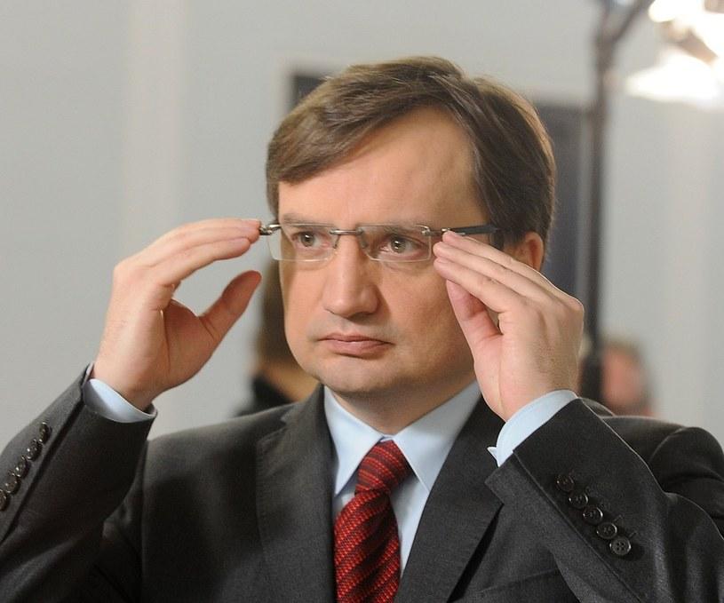 Zbigniew Ziobro /Witold Rozbicki /Reporter