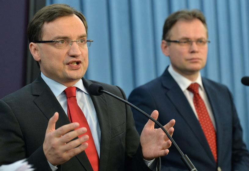 Zbigniew Ziobro /Radek Pietruszka /PAP