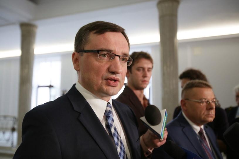 Zbigniew Ziobro /Leszek Szymański   (PAP) /PAP