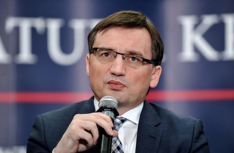Zbigniew Ziobro /Marcin Obara (PAP) /PAP