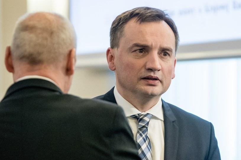 Zbigniew Ziobro /Andrzej Iwańczuk /Reporter