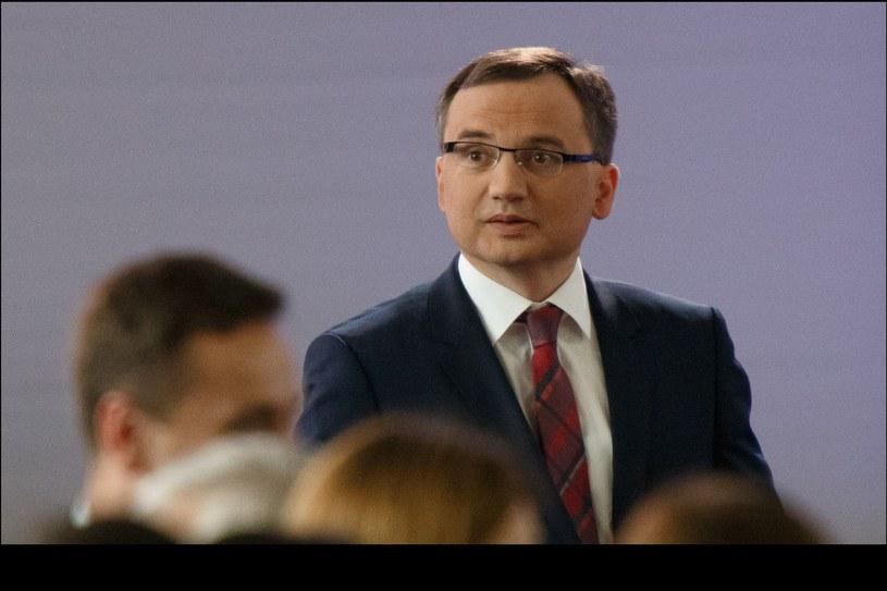 Zbigniew Ziobro /Krystian Maj /Agencja FORUM