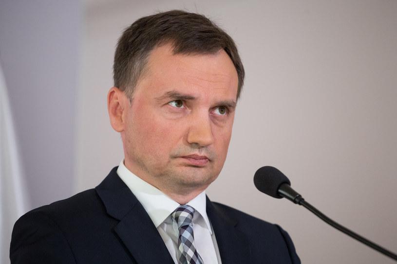 Zbigniew Ziobro /Fot. Mateusz Wlodarczyk /Agencja FORUM