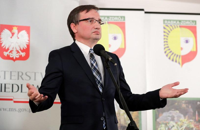 Zbigniew Ziobro / Grzegorz Momot    /PAP