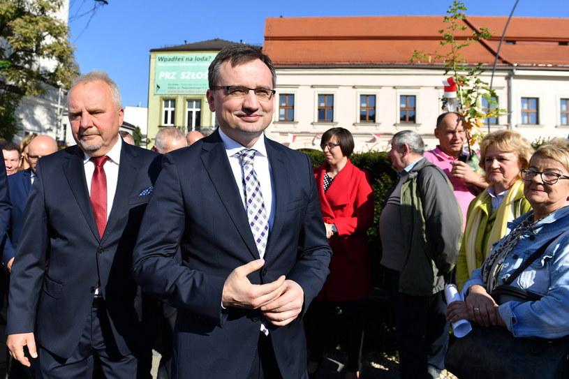 Zbigniew Ziobro / Piotr Polak    /PAP