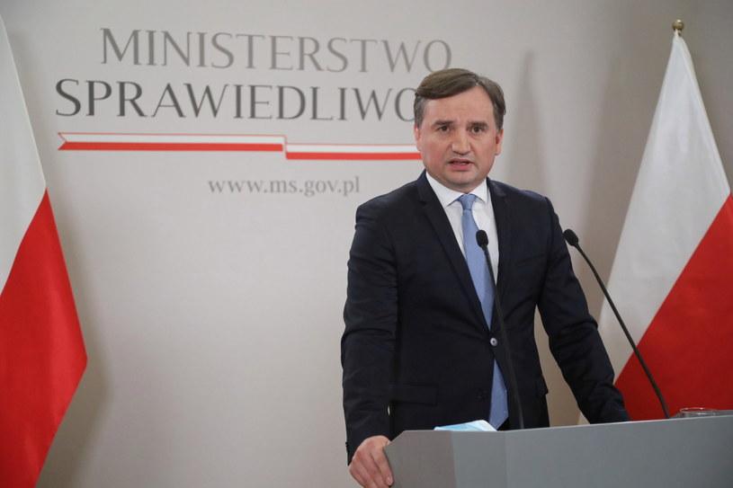 Zbigniew Ziobro /Wojciech Olkuśnik /PAP