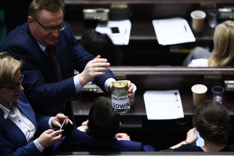 """""""Zbiórka na Gowina"""" / Leszek Szymański    /PAP"""