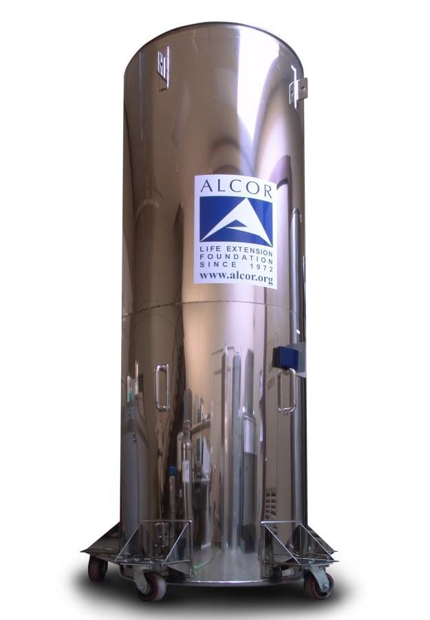 Zbiornik zdolny do przechowania 4 pacjentów w temperaturze wynoszącej minus 196 stopni Celsjusza /materiały prasowe