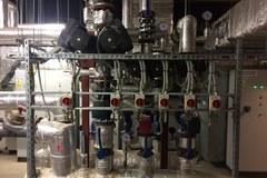 Zbiorniki retencyjne i pomieszczenia techniczne