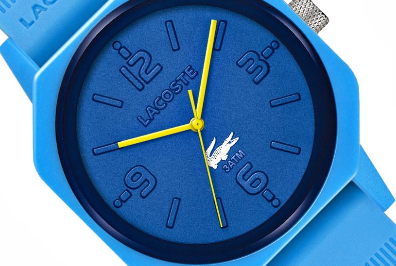 Zbliżenie na tarczę zegarka /materiały prasowe