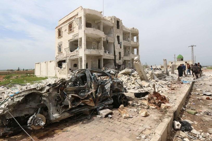 Zbombardowane Aleppo w Syrii / zdj. ilustracyjne /AFP