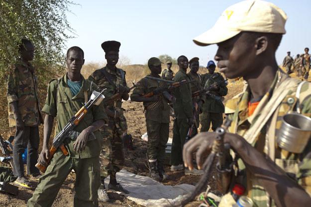 Zbrodni mieli się dopuścić członkowie Ludowej Armii Wyzwolenia Sudanu (zdjęcie ilustracyjne) /AFP